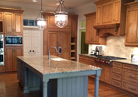 An amazing kitchen renovation in the Norcross, GA, area