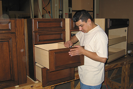 Working on Drawers